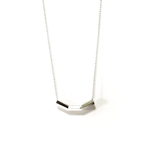 His Yoke Is Easy Necklace Silver