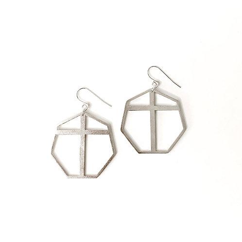 Redeemed Ear Hooks Silver