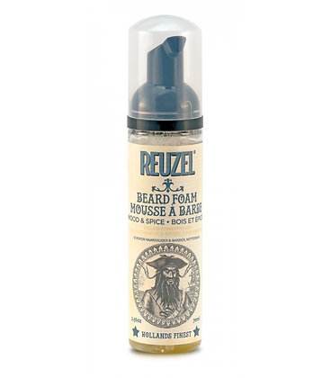 Reuzel wood and spice beard foam