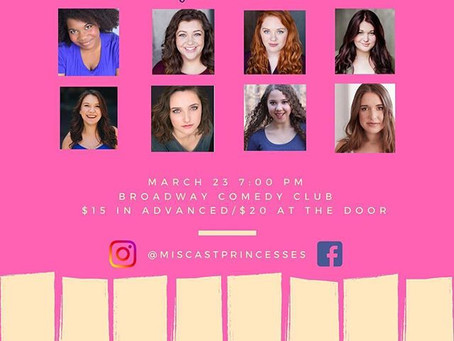 Typed Out: A Miscast Princess Cabaret