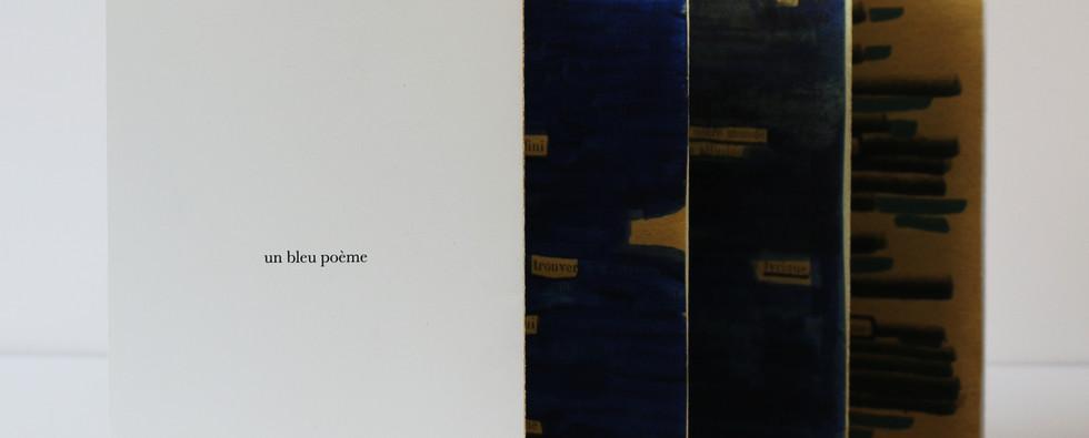 un bleu poème