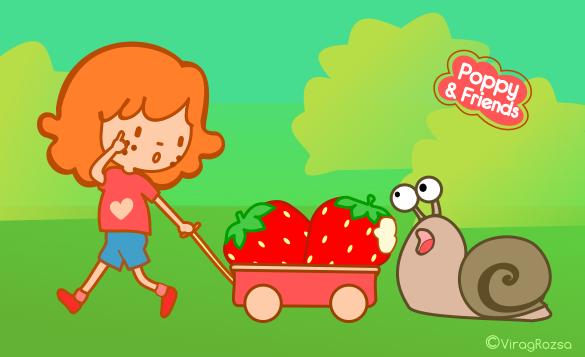 Children's story illustration. Nature story for children. Eco-friendly, nature friendly stories.