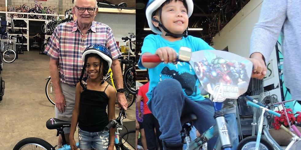Volunteering with Jack the Bike Man