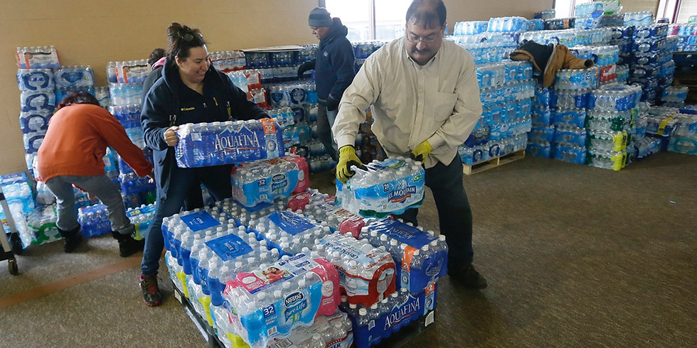 Water Distribution with the United Way