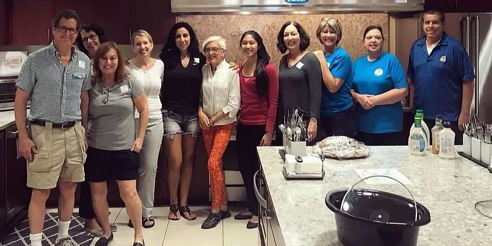 Chef for a Day at the Quantum House