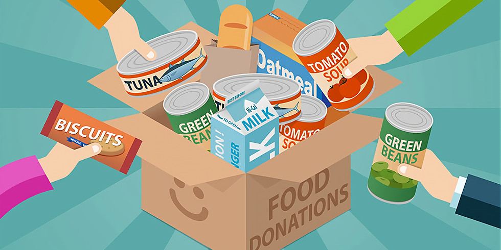 Thanks for Giving Food Drive Collection