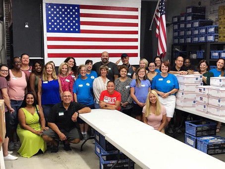 Packing Boxes with Forgotten Soldiers Outreach