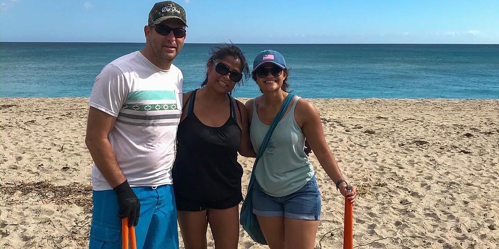 Beach Cleanup @ MacArthur Beach State Park