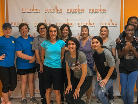 Rescuing Food at Feeding South Florida