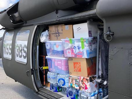 Bahamas Relief Mission at Stuart Jet Center