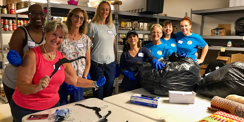 Volunteering @ the Homeless Coalition