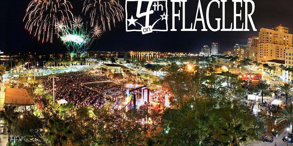 4th on Flagler Celebration