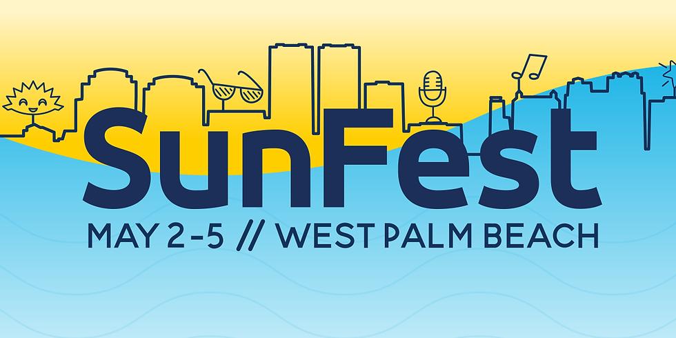 Volunteering @ Sunfest 🎶