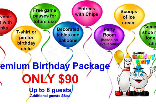 Premium Birthday Package