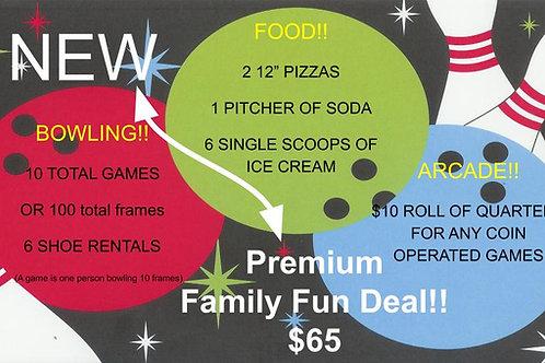 Premium Family Fun Deal