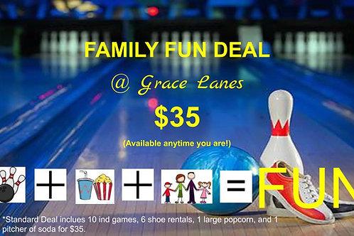 Standard Family Fun Deal