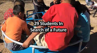 29 Students in Search of a future.