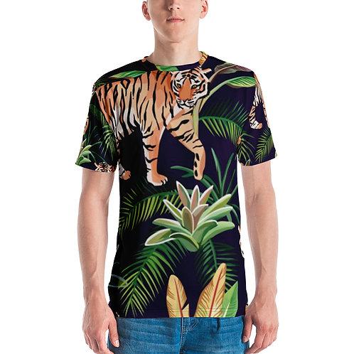 Men's T-shirt - Tiger Jungle