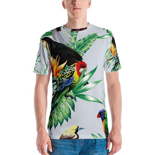 Men's T-shirt - Tropical Birds