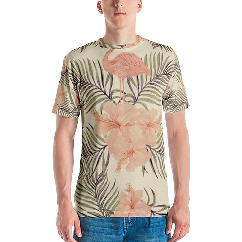 Men's T-shirt - Pink Flamingo