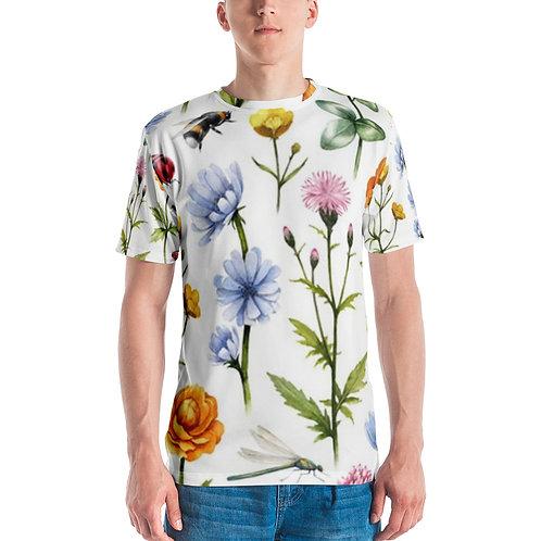 Men's T-shirt - Meadow Flowers