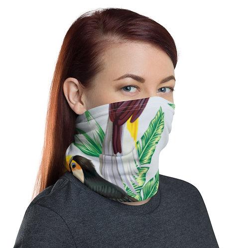 Face Covering - Tropical Birds