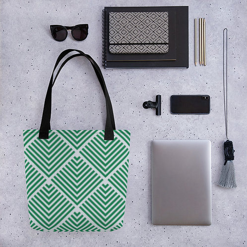 Tote bag - Green Palms