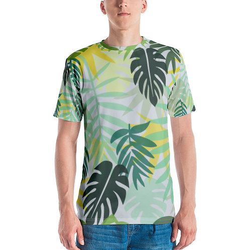 Men's T-shirt - Tropical Leaves