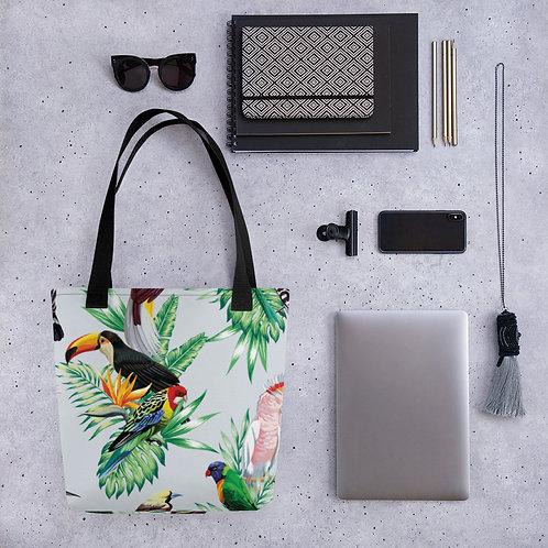 Tote bag - Tropical Birds