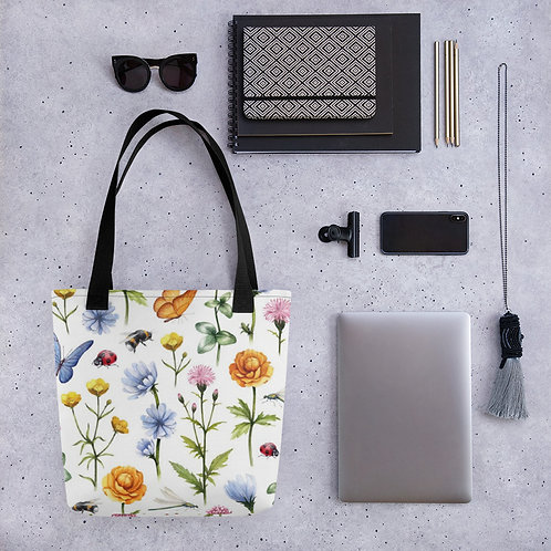 Tote bag - Meadow Flowers