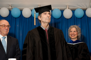 Roth receives honorary doctorate from the JTS