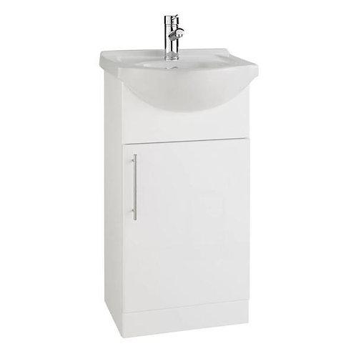 Impakt 450mm 1 Door vanity unit & Basin