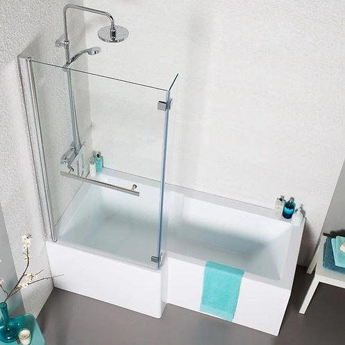 Tetris L Shaped Shower Bath
