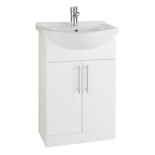 Impakt vanity unit and basin