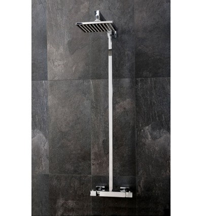 Term Square Style Thermostatic Shower