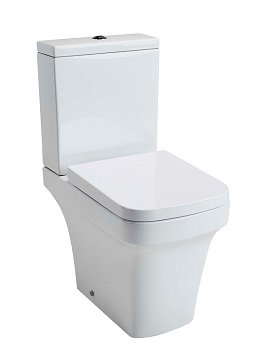 Iona Open back WC, cistern & S/C Seat