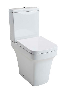 Iona Comfort height WC, cistern & S/C Seat