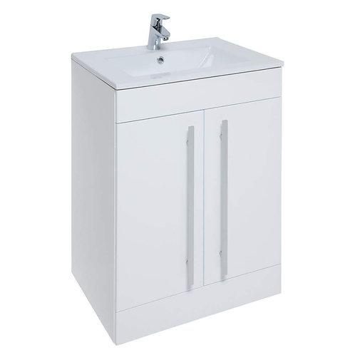 Purity Floor standing 2 door unit & Ceramic Basin