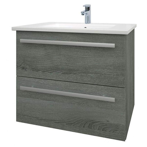 Purity 2 Drawer wall mounted unit & Basin