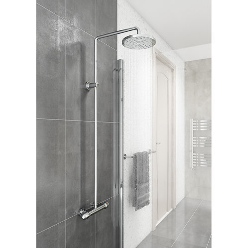 Drum Round Style Thermostatic Shower