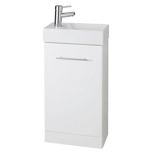 Impakt Cube Cloakroom Unit & Basin