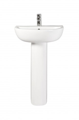 Alessandro 550mm Basin and Pedestal