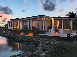 private-islands-royal-belize-villa-night