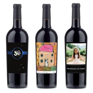 Customized Wine Bottles