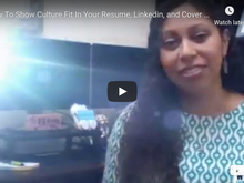 "How to show ""culture fit"" in your job application"
