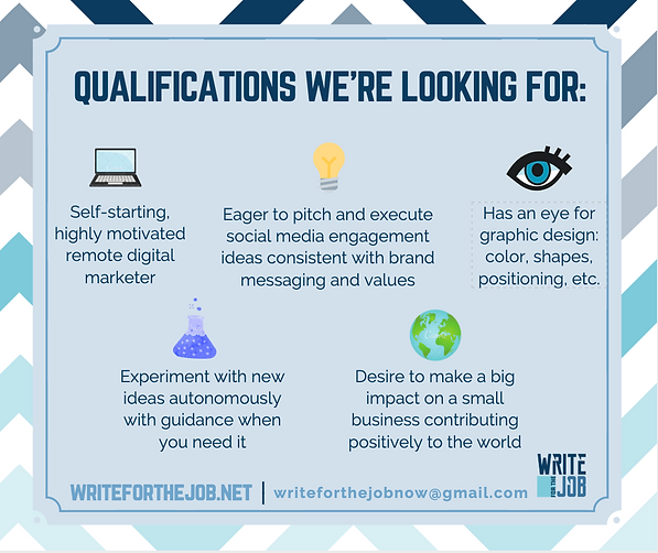 WFTJ - Internship Qualifications Winter