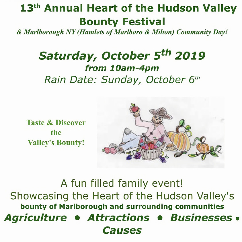 13th Annual Heart of the Hudson Valley Bounty Festival