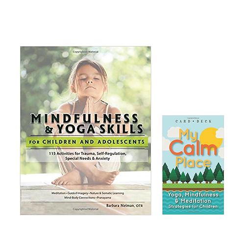 Mindfullness Book + My Calm Place Card Deck