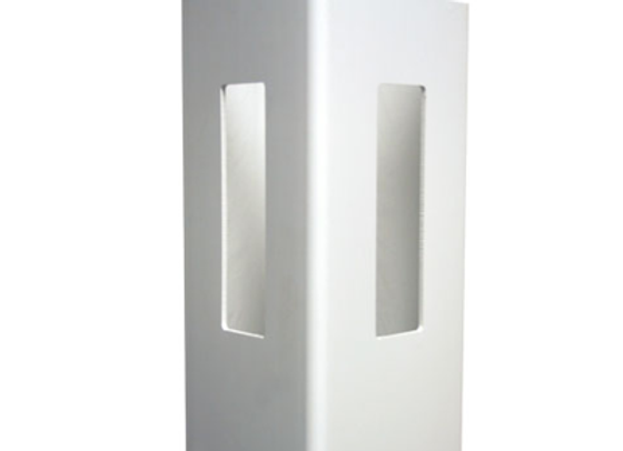 5x5x8 White Vinyl Corner Post