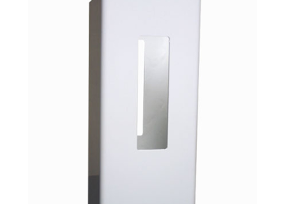 5x5x8 White Vinyl Line Post